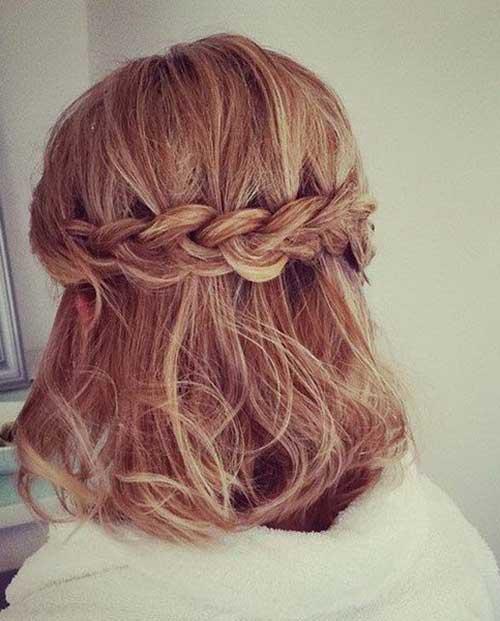 13.Hair Color Short Hair