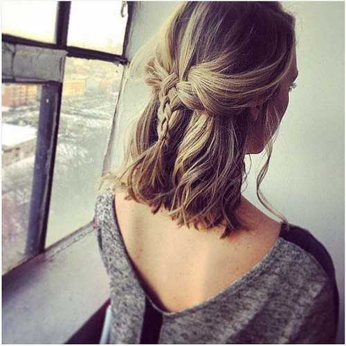 Short Hair Updos-13