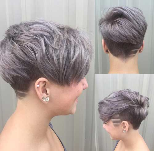 Simple Stunning Colored Short Haircuts