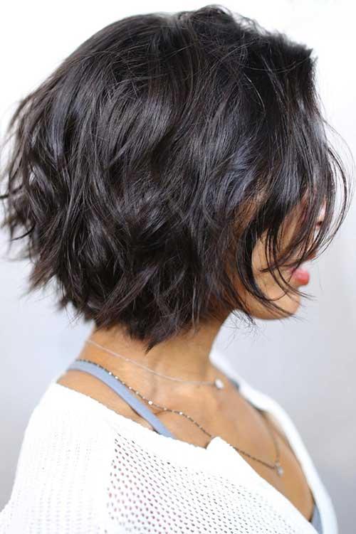 14.Short Brunette Haircut 2016