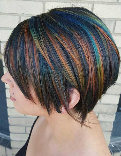 Hair Color for Short Hair-15
