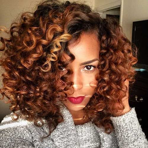 Naturally Curly Short Hairstyles-15