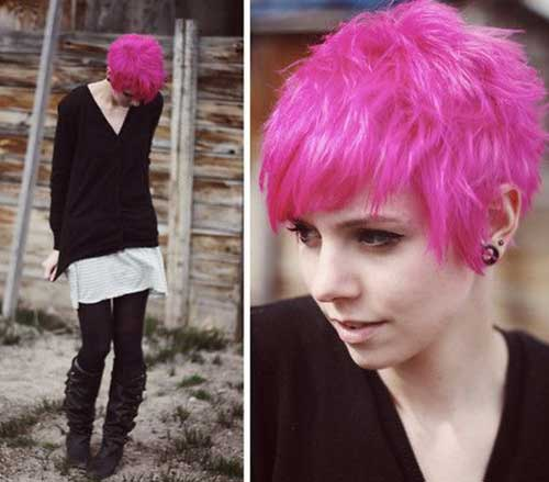 20 Good Pink Pixie Cuts Short Hairstyles Amp Haircuts 2018