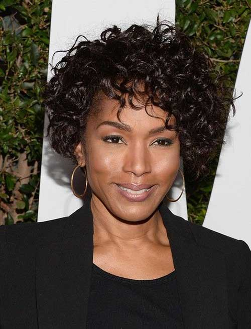 Short Curly Hairstyles for Black Women-15