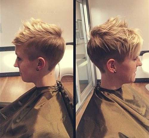 Short Hair Styles for Girls-15