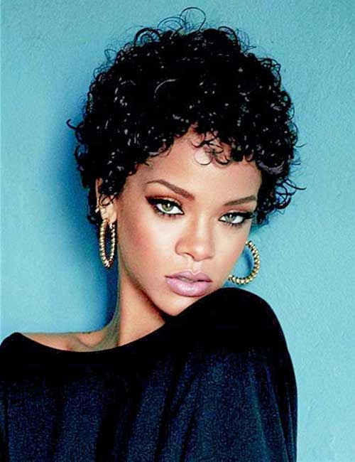 Short Haircuts for Naturally Curly Hair-15