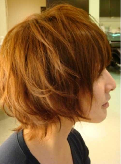 16.Cute Short Hairstyle 2014