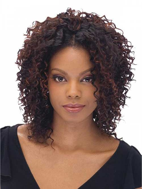 20 Short Curly Weave Hairstyles Short Hairstyles Haircuts 2018
