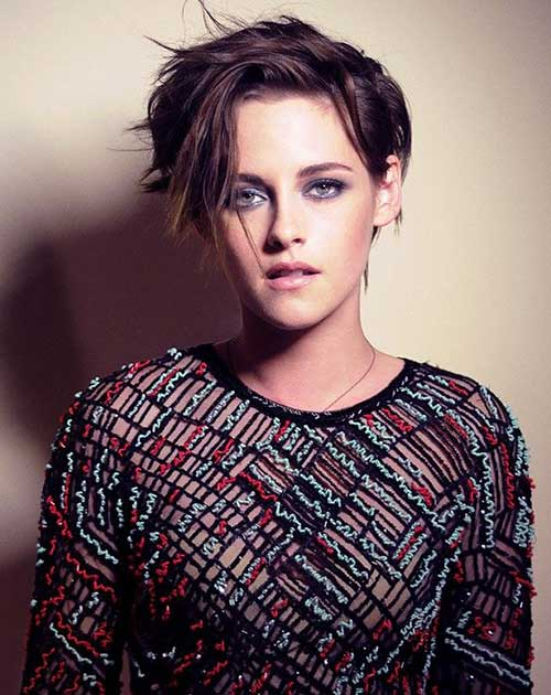 Celebrity with Short Hair-17