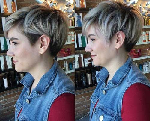 Hair Color for Short Hair-17