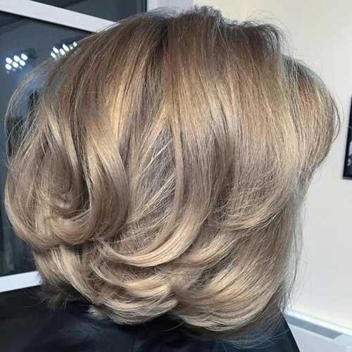 Layered Short Haircuts-17