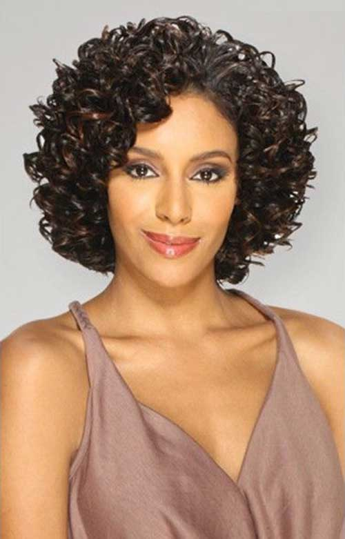 Short Curly Weave Hairstyles-17
