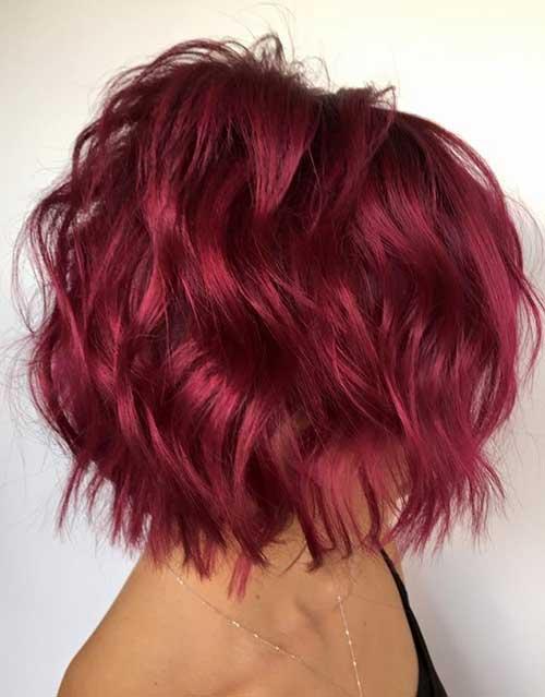 Short Wavy Hairstyles-17