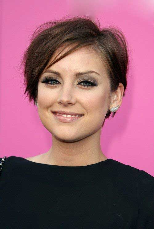 Brown Short Haircuts-18