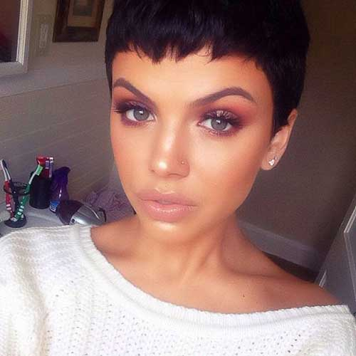 Short Brunette Haircuts 2015-18