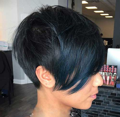 Black Women Short Hairstyles 2015-19