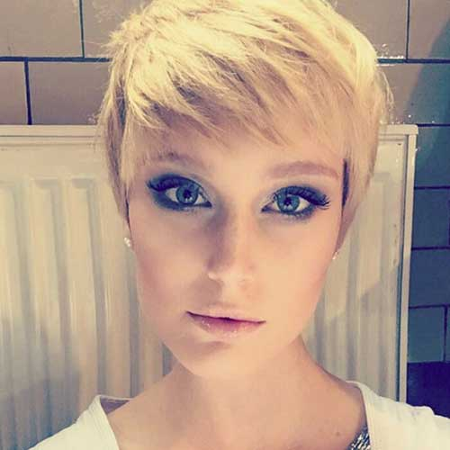Blonde Short Hairstyles-19