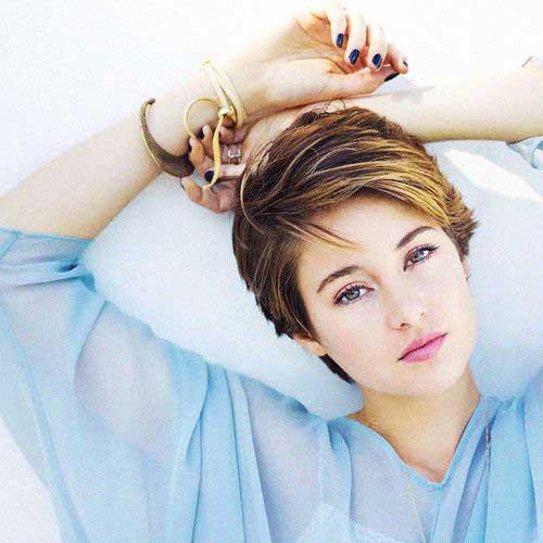 Celebrity Short Hair 2015-19