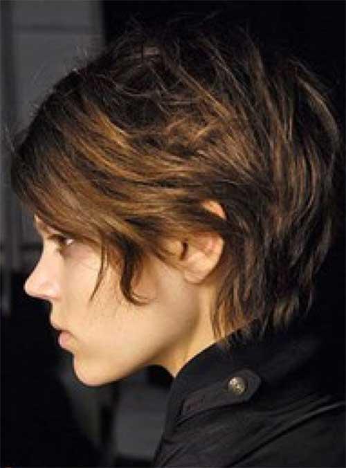 19.Cute Short Hairstyle 2014