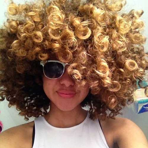 Naturally Curly Short Hairstyles-19