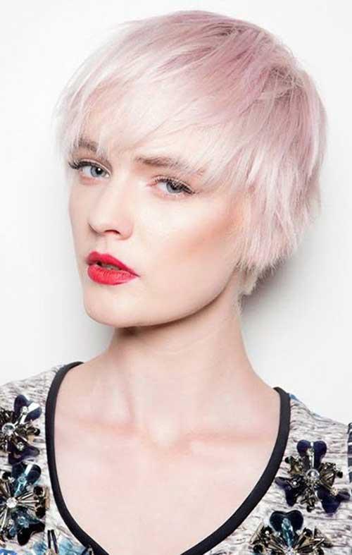 20 Good Pink Pixie Cuts