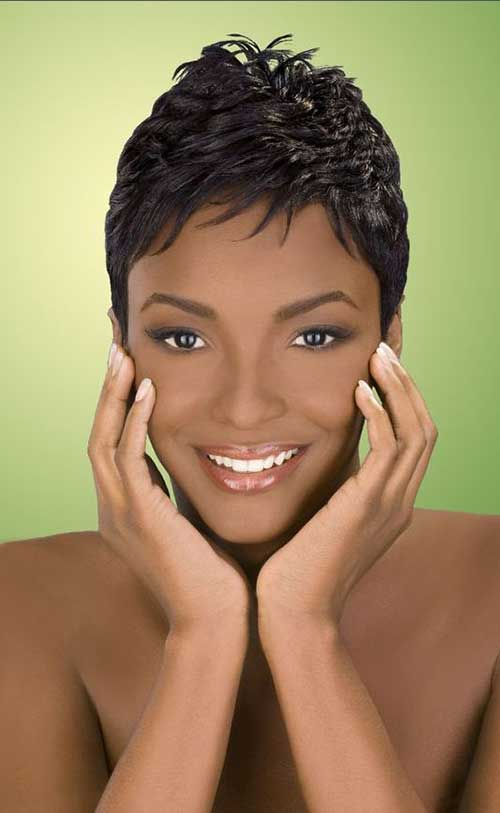 Short Haircuts for Black Women 2015-19