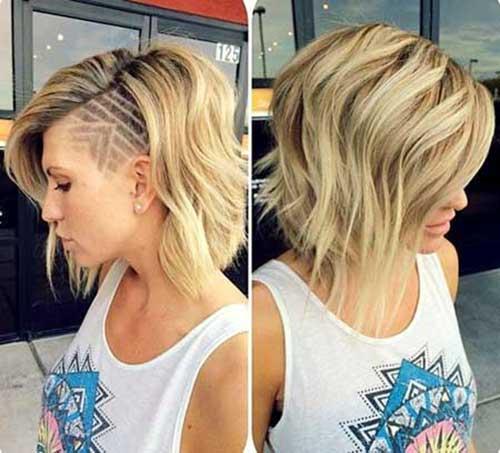19.Short Haircut for Women 2016