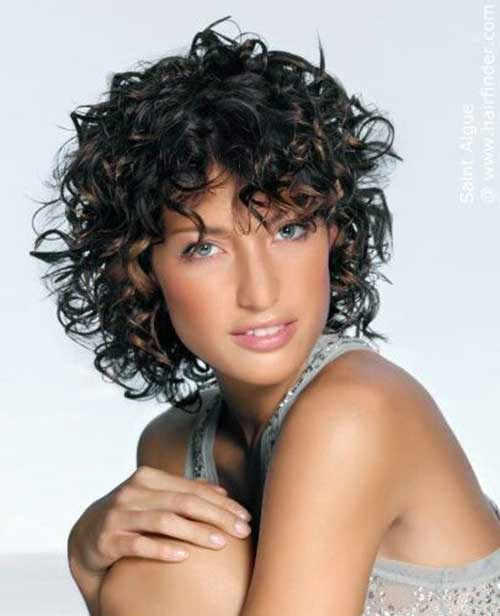 Curly Hairstyles with Bangs-20