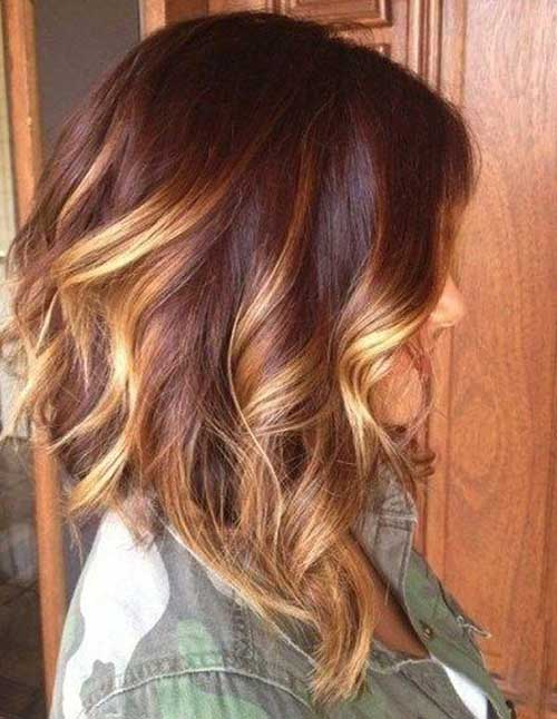 20.Hair Color Short Hair