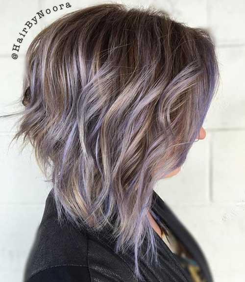 20.Layered Short Haircut