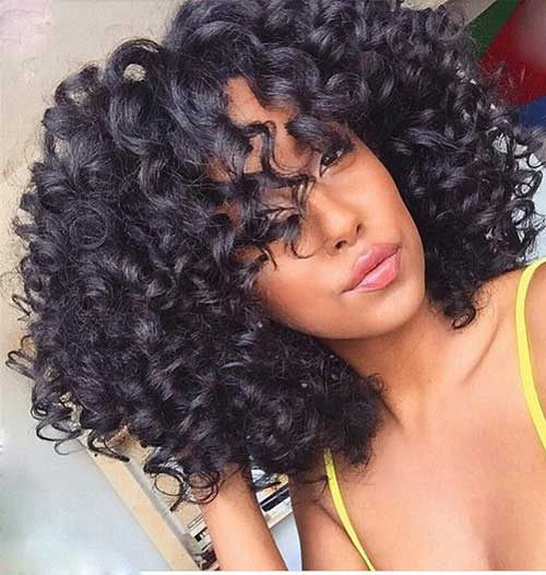 Pretty Curly Weave Hairstyles Find Your Perfect Hair Style
