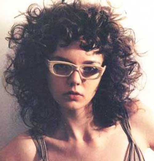 Curly Hairstyles with Bangs-21