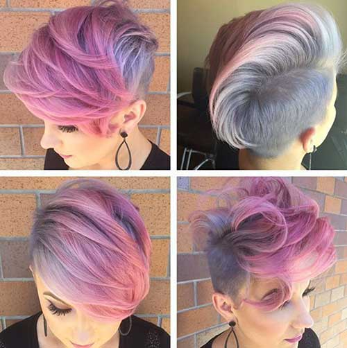 Hair Color for Short Hair-21