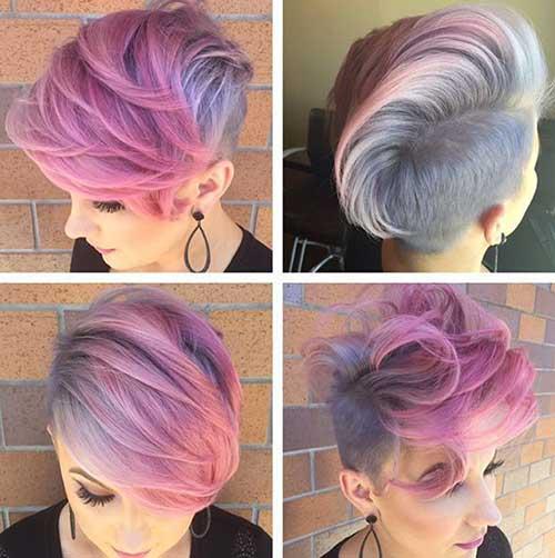 21.Hair Color Short Hair