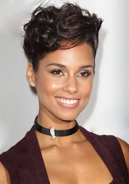 Short Haircuts for Black Women 2015-21