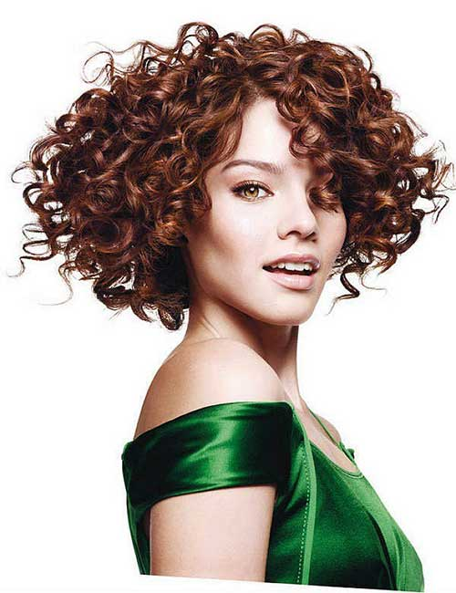 Curly Hairstyles with Bangs-22