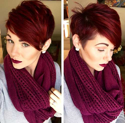 22.Hair Color Short Hair