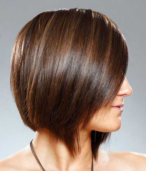 Short Brunette Haircuts 2015-22