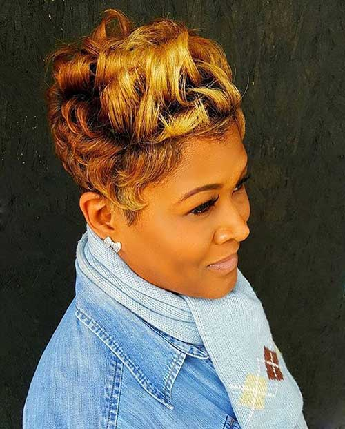 Black Women Short Hairstyles 2015-23