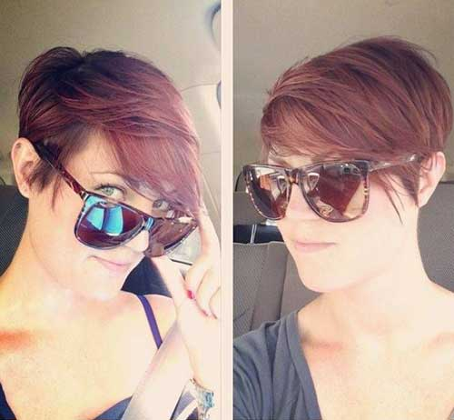 25.Short Haircut for Women 2016