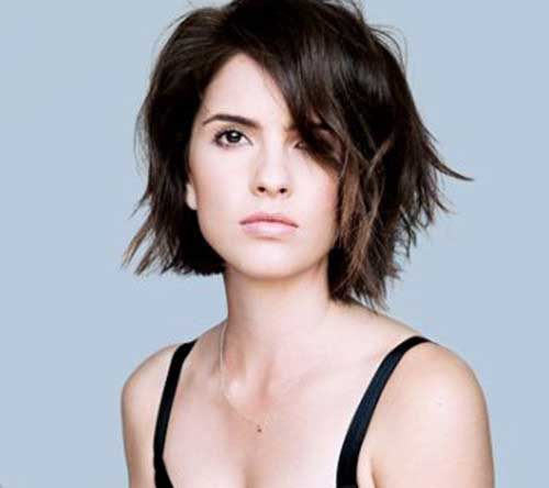 Short Hair Styles for Girls-26