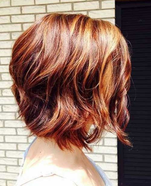 Hair Color for Short Hair-27