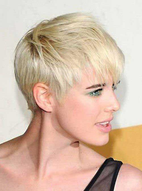 28.Short Haircut for Women 2016
