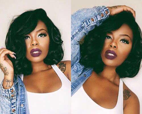 6.Black Ladies Short Hairstyle