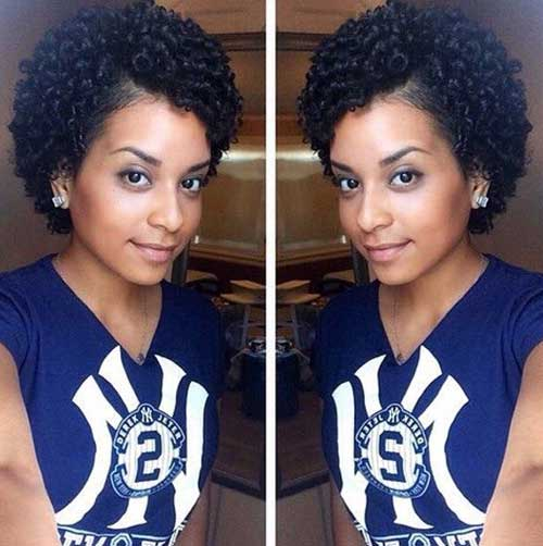 Short Haircuts for Naturally Curly Hair-6