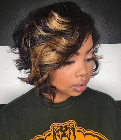 7.Black Ladies Short Hairstyle