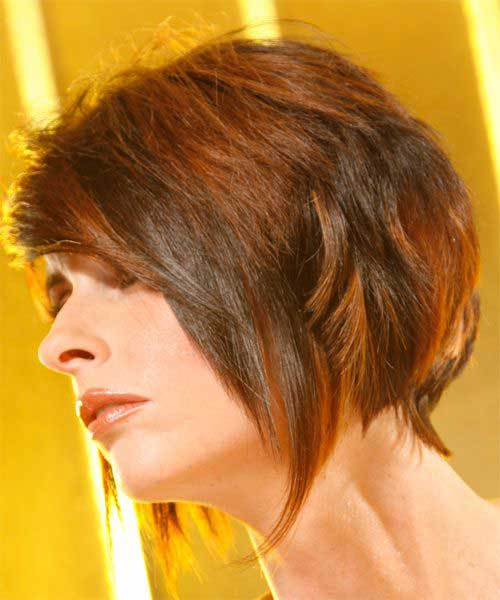 Layered Short Haircuts-7