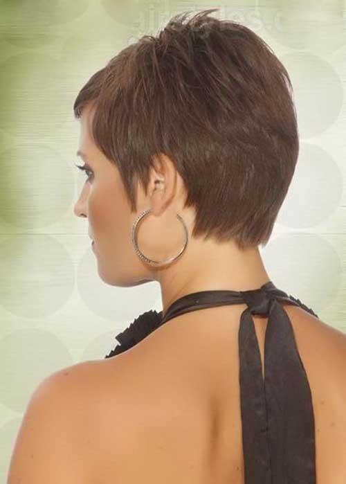 7.Pixie Hair Back View