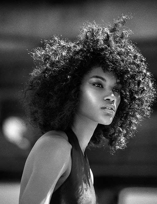 Short Curly Hairstyles for Black Women-7