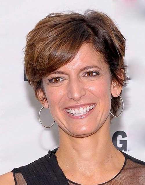 7.Short Haircut for Women Over 50